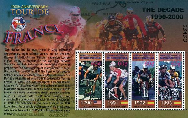 [The 100th Anniversary of Tour de France Cycle Race, Typ ]