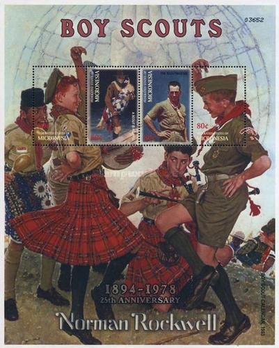 [The 25th Anniversary of the Death of Norman Rockwell, Illustrator, 1894-1976, Typ ]