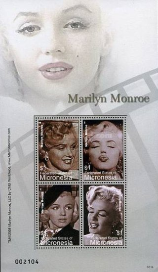[The 80th Anniversary of the Birth of Marilyn Monroe, 1926-1962, Typ ]