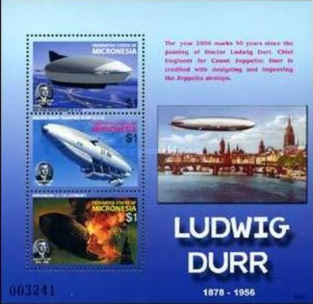 [The 50th Anniversary (2006) of the Death of Ludwig Durr, 1878-1956, Typ ]