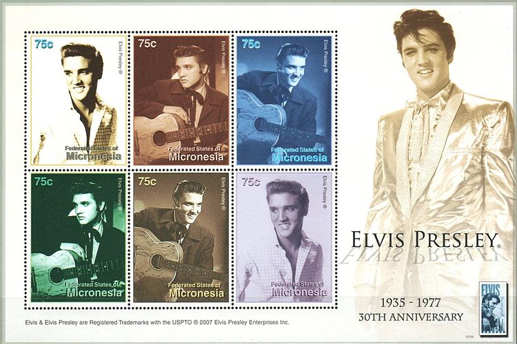 [The 30th Anniversary of the Death of Elvis Presley, 1935-1977, type ]