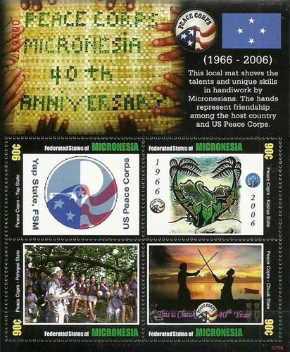 [The 40th Anniversary of the UN Peace Corps Micronesia, type ]