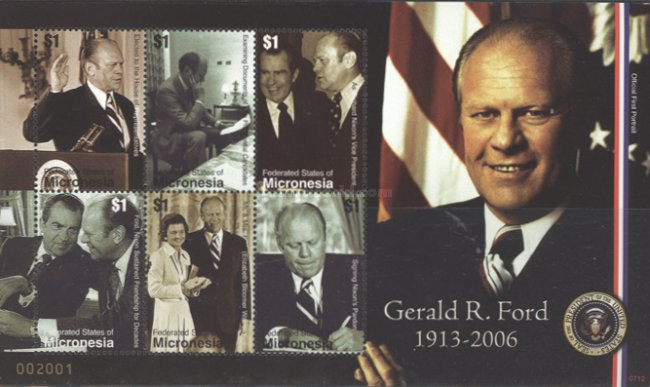 [The 1st Anniversary of the Death of Gerald R. Ford, 1913-2006, Typ ]