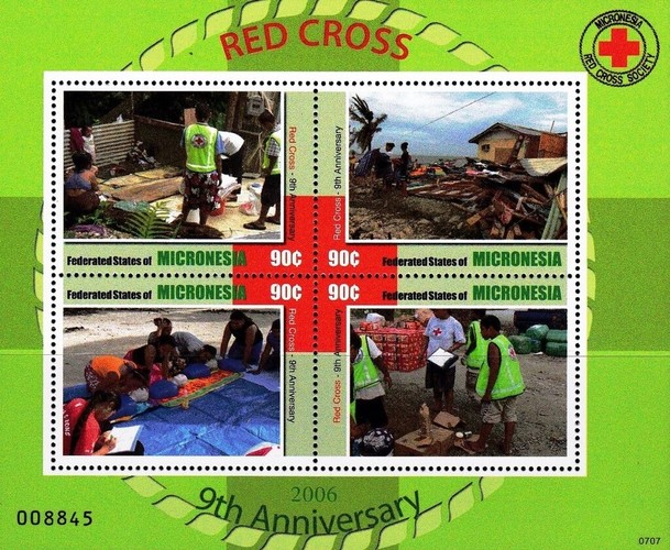 [The 9th Anniversary of the Micronesia Rec Cross Society, type ]