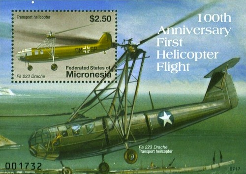 [The 100th Anniversary of the Helicopter, type ]