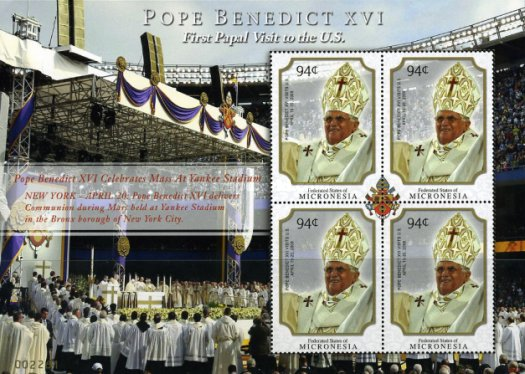 [Pope Benedict XVI - First Visit to the United States, Typ ]