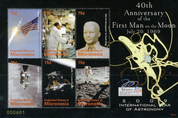 [The 40th Anniversary of the First Man on the Moon, Typ ]
