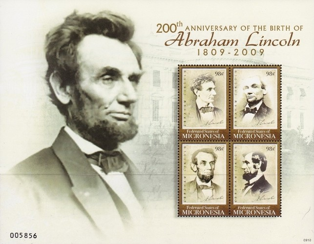 [The 200th Anniversary of the Birth of Abraham Lincoln, 1809-1865, type ]