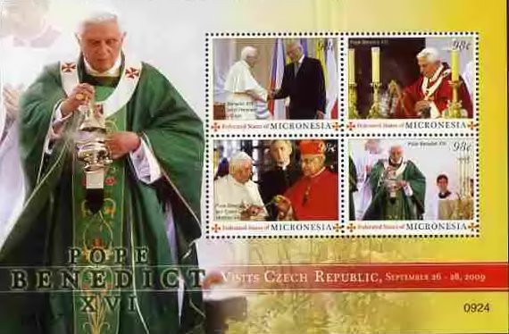 [Pope Benedict XVI - Visit to the Czech Republic, type ]