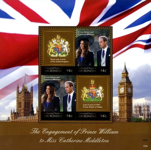 [Royal Engagement - Prince William & Catherine Middleton, type ]