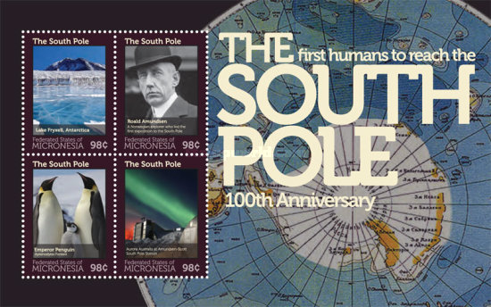 [The 100th Anniversary of the First Humans to Reach the South Pole, Typ ]