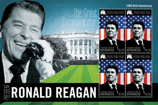 [The 100th Anniversary (2011) of the Birth of Ronald Reagan, 1911-2004, type ]