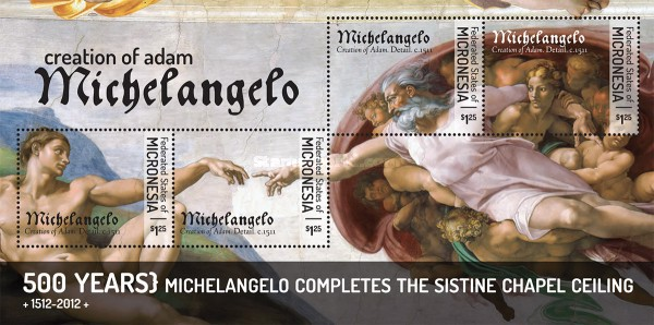 [The 500th Anniversary of the Sistine Chapel by Michelangelo, type ]
