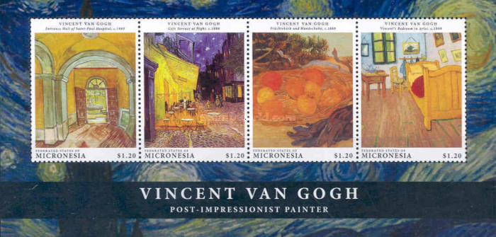 [The 160th Anniverfsary of the Birth of Vincent van Gogh, 1853-1890, type ]