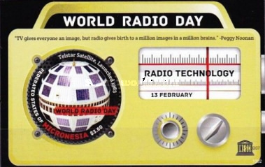 [World Radio Day, type ]