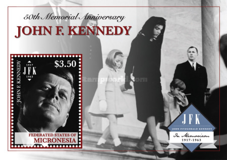 [The 50th Anniversary of the Death of J. F. Kennedy, 1917-1963, type ]