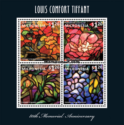 [The 80th Anniversary of the Death of Louis Comfort Tiffany, 1848-1933, type ]