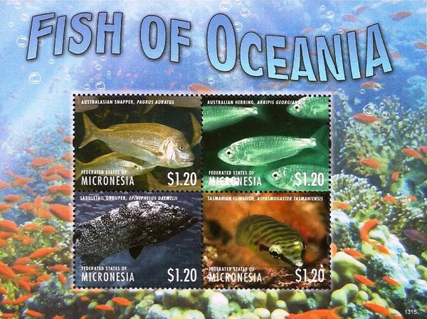[Marine Life - Fish of Oceania, type ]
