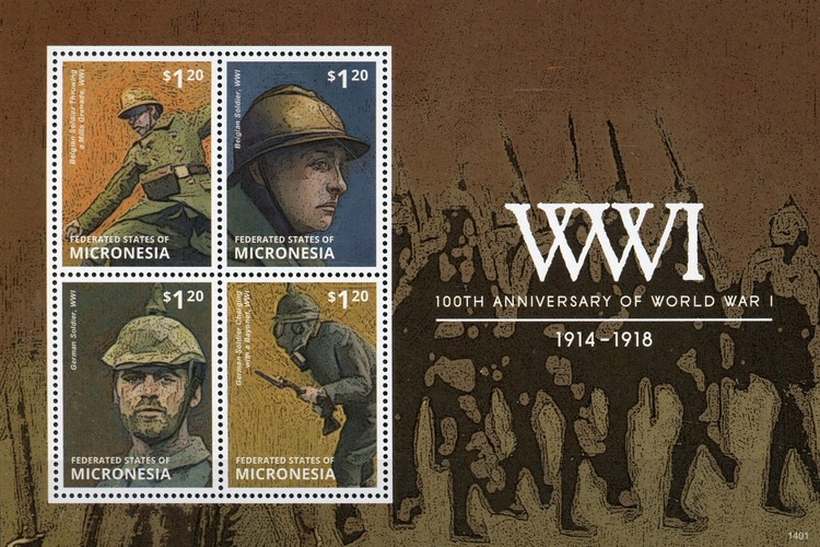 [The 100th Anniversary of the Beginning of World War I, type ]