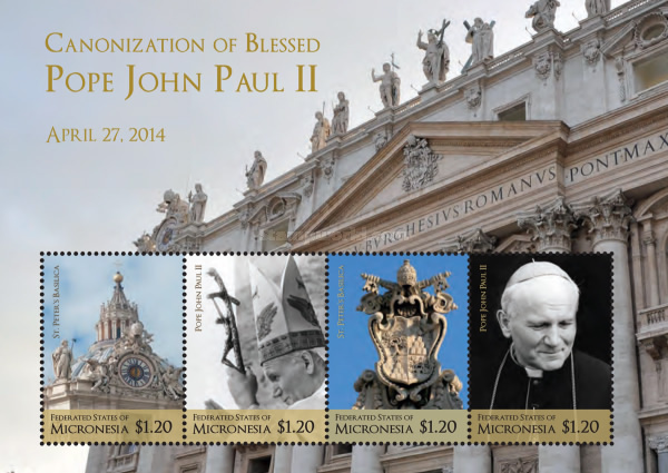 [Canonization of Pope John Poul II, type ]