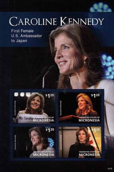 [Caroline Kennedy - First Female U.S. Ambassador to Japan, type ]