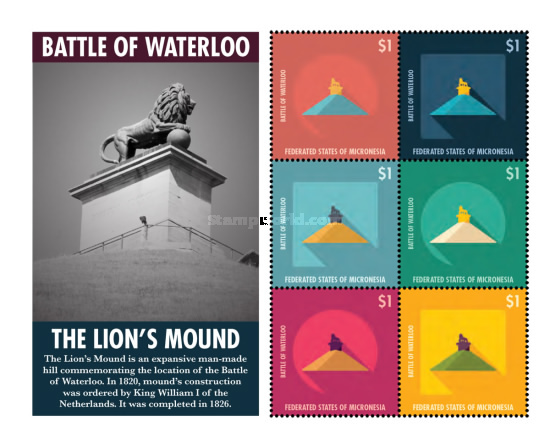 [The 200th Anniversary of the Battle of Waterloo, type ]