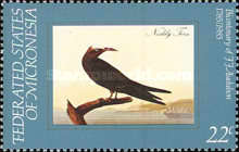 [Birds - The 200th Anniversary of the Birth of John J. Audubon, Ornithologist, Typ AN]