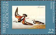 [Birds - The 200th Anniversary of the Birth of John J. Audubon, Ornithologist, type AO]