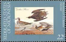 [Birds - The 200th Anniversary of the Birth of John J. Audubon, Ornithologist, type AP]