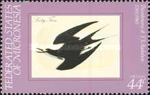 [Airmail - Birds - The 200th Anniversary of the Birth of John J. Audubon, type AR]