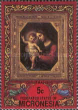 """[Christmas - """"Madonna and Child"""" Paintings, type BK]"""