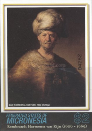[The 400th Anniversary of the Birth of Rembrandt, 1605-1669, Typ BNI]