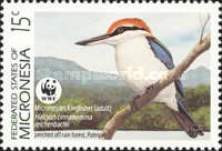 [Endangered Species - Micronesian Kingfisher and Micronesian Pigeon, Typ FS]