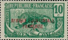 [Issues of 1907-1922 Overprinted