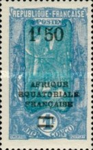 [Not Issued Stamps Surcharged, type J2]
