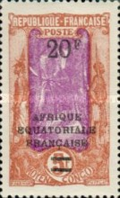 [Not Issued Stamps Surcharged, type J5]