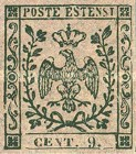 [Coat of Arms - As 1853 Issue but Without