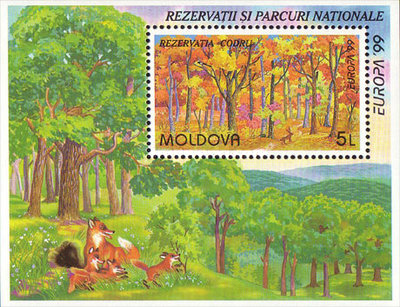 [EUROPA Stamps - Nature Reserves and Parks, type ]