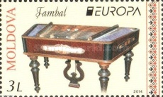 [EUROPA Stamps - Musical Instruments, type AEI]