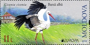 [EUROPA Stamps - National Birds, type ANA]