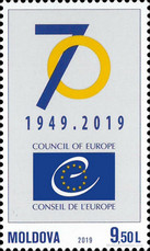 [The 70th Anniversary of the Council of Europe, type ANW]
