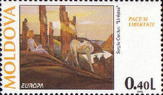 [EUROPA Stamps - Peace and Freedom, type DR]