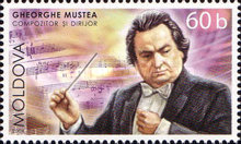 [Composer and Conductor G. Mustea, type SF]