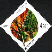 [EUROPA Stamps - The Forest, type ZX]