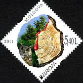[EUROPA Stamps - The Forest, type ZY]