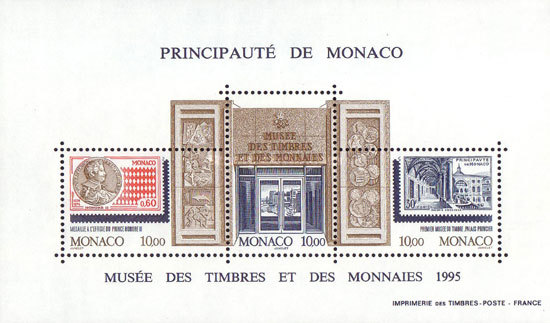 [Inauguration of the Stamp and Coin Museum, type ]