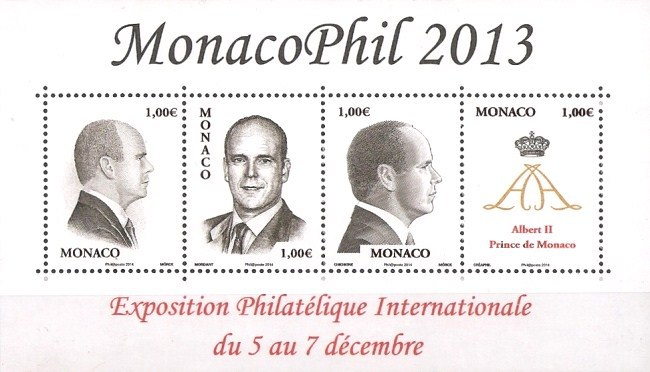 [International Stamp Exhibition MONACOPHIL 2013, type ]