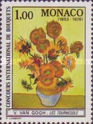[Monte Carlo Flower Show 1979 and the 125th Anniversary of the Birth of Vincent Van Gogh, type BAB]