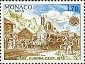 [EUROPA Stamps - Post & Telecommunications, type BBH]