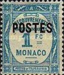 """[Postage Due Stamps Overprinted """"POSTES"""" or Surcharged Also, type CQ10]"""